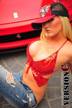 Holliann Locke: Red Car set 2 – 28 images