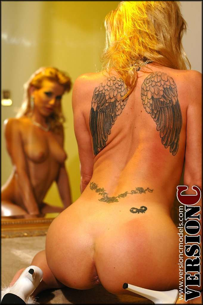 Angie Savage: Angel Wings set 3 - 48 images
