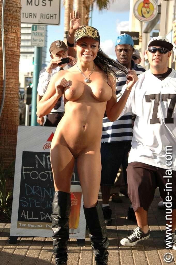 Nude in La: Shay Lynn - North Hollywood Sport Bar set 1 - 74 images