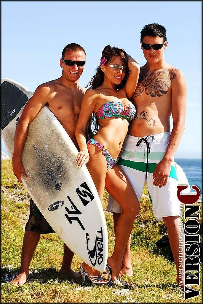 x3LiveModels - Nina Carla - Surfer Love - 45 images