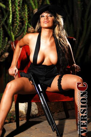 Ashley Peaches: Mob Boss set 1 - 42 images