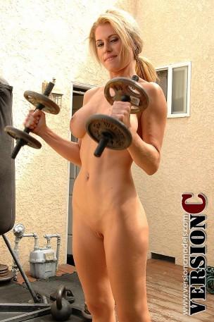 Randy Moore: Fitness Nude Series: Dumb Bells – 49 images