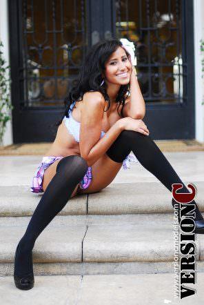 Joy Marie: Skirts and Stockings set 1 - 94 images