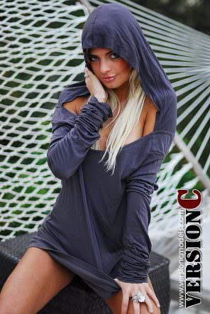 Ashley Kirk: Bottomless Hoody set 1 - 50 images