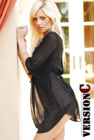 Ashley Kirk: Black and Platinum set 1 - 58 images