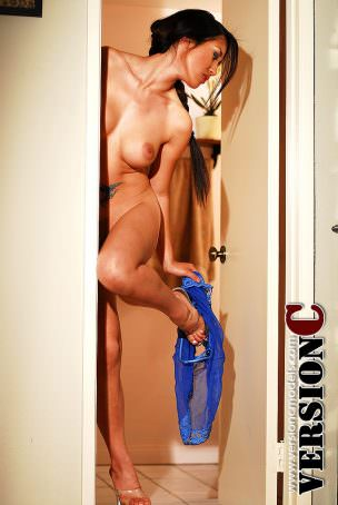 Ayanna: Blue Teddy set 1 - 75 images (Exclusive Nudes)