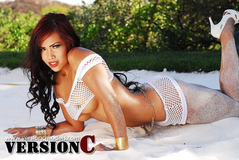 Desiree Deleon: Sand and Heels set 1 - 40 images (Exclusive Nudes)