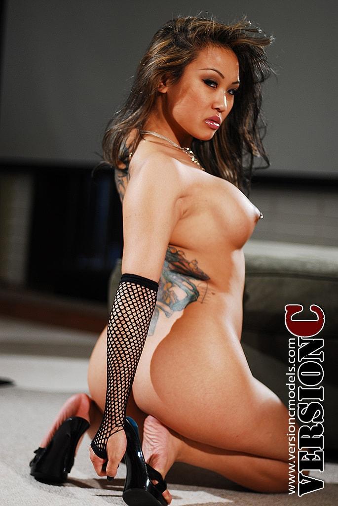Mia Valerio: Stripes set 2 - 65 images (Exclusive Nudes)