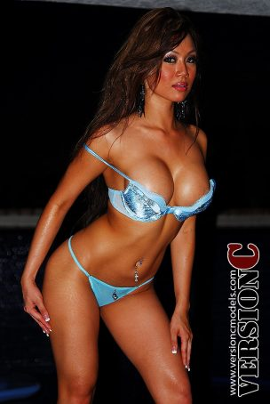 Nina Carla: Poolside by Midnight set 1 - 36 images
