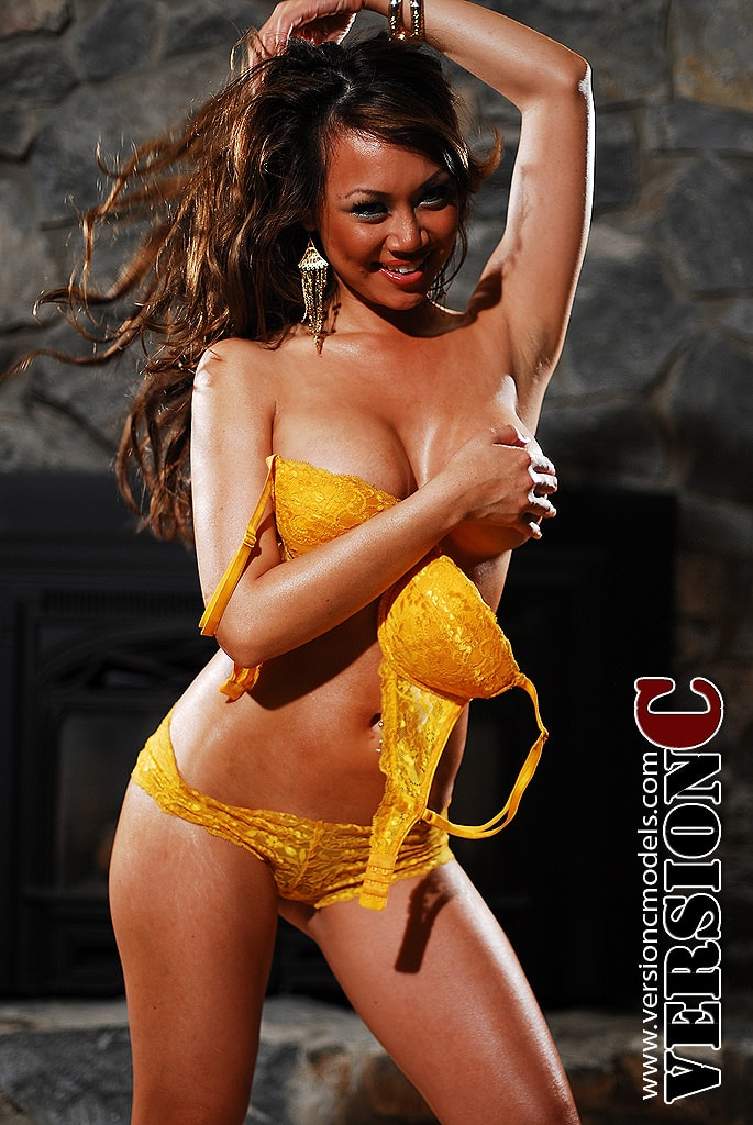 Nina Carla: Yellow Mesh Fun set 1 - 55 images