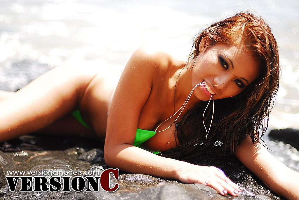 Sunshine Rodriguez: Rocky Beach Moment set 2 – 60 images